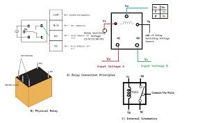 12 volt 4 pin relay wiring diagrams within 12v 5 pin relay wiring