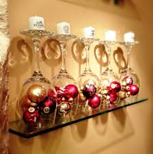 wine glass christmas ornaments top 40 most pinteresting christmas candle decoration ideas