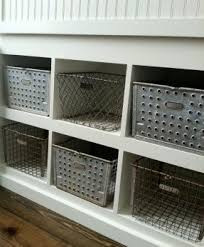 Decorative Metal Storage Bins Foter