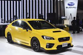 subaru sti jdm subaru turns the wick on wrx sti with 328ps s207 limited edition