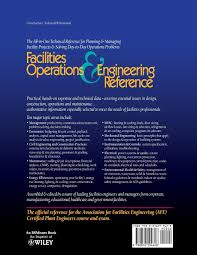 facilities operations u0026 engineering reference a technical
