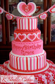 Cake Hearts On Valentines Or Wedding Two Tier Heart Shaped Sweet