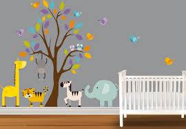stickers jungle chambre bébé chambre jungle fille idées de décoration capreol us