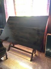 Wooden Drafting Table Antique Drafting Table Ebay