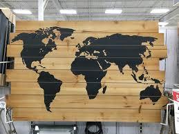 wood world pallet world map handydadtv