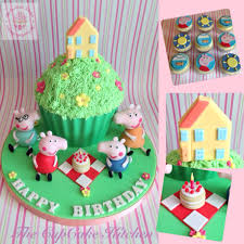peppa pig cupcakes cake gladesville south wales