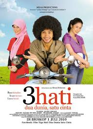 film nafas cinta 3 hati dua dunia satu cinta indonesian movie pinterest movie