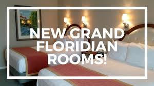 new garden view rooms at disneys grand floridian resort youtube