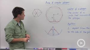 area of regular polygons concept geometry video by brightstorm