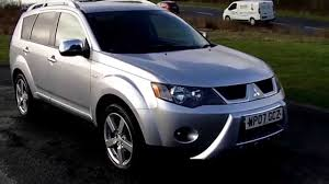mitsubishi 2007 www bennetscars co uk 2007 mitsubishi outlander warrior di d 4x4
