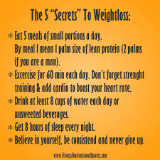printable weight loss quotes my 5 weight loss secrets