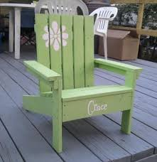 Plans For Wood Deck Chairs by Ana White Build A How To Build A Super Easy Little Adirondack
