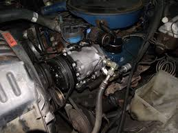 Vintage Ford Truck Air Conditioning - a c compressor conversion york to sanden ford truck enthusiasts