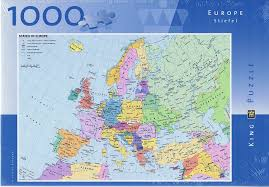 usa map jigsaw puzzle by hamilton grovely 2 map of europe 1000 jigsaw puzzle co uk toys
