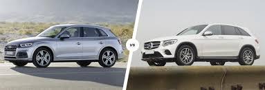lexus suv vs audi q5 mercedes glc vs audi q5 suv comparison carwow
