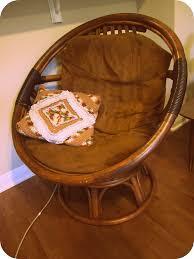 round chair pads australia creditrestore us awesome rattan papasan chair plus brown cushion chair for home furniture ideas