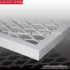 Suspended Ceiling Tiles Price by Low Prices Aluminum Material Open Grid Suspended Ceiling Tile