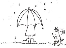 umbrella raindrop coloring color luna