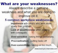 most questions in job interview weakness in interview toreto co