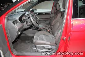 seat arona fr interior at iaa 2017 indian autos blog