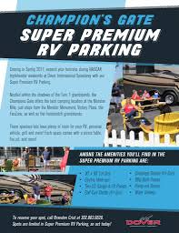 best camping black friday deals rv parking dover international speedway