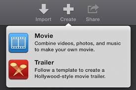 how to create a movie trailer with imovie trailers