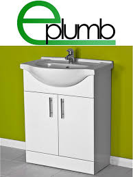 Bathroom Vanity Units Online by White 550 Bathroom Vanity Combination Unit Cloakroom Suite 500