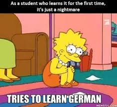 Learning Meme - learning german
