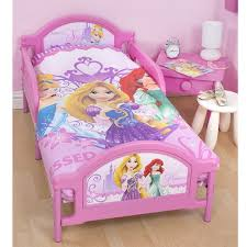 Buy Beds Disney Princess Sparkle Girls Pink Single Bed With Mattress