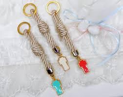 baby shower keychain favors key chain baptism favors keychain bombonieres baby shower