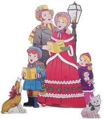 size wooden carolers yard patterns