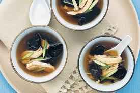 chicken and wood ear mushroom soup