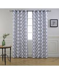 Geometric Pattern Curtains Amazing Deal On Driftaway Geovany Room Darkening Thermal
