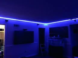 purple led lights for computers led desk light strip improbable lights for computer nice lighting