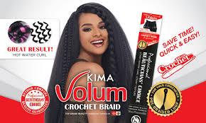 pre braided crochet hair harlem 125 kima volum crochet braid 24 inches pre braided loop