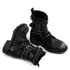 black biker boots courtney black biker boots areaforte it