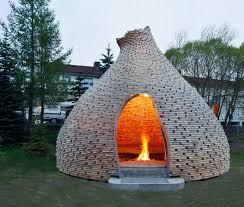 fireplace for children by haugen zohar arkitekter trondheim
