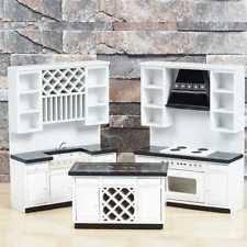 miniature dollhouse kitchen furniture dollhouse kitchen set ebay