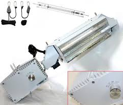 grow lights double ended horizontal 1000w double ended de hps grow light fixture kit