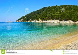 Ithaca Greece Map by Filiatro Beach In Ithaca Island Greece Stock Photo Image 68261545