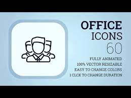 office icons cs4 after effects template after effects