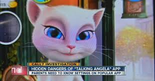 fact check is the talking angela app unsafe