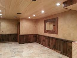 Wood Shelf Plans Basement by Pallet Wainscoting Applications Garage Outdoor Projects