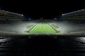 Arena Lights Notre Dame Stadium U2013 University Of Notre Dame Musco Sports