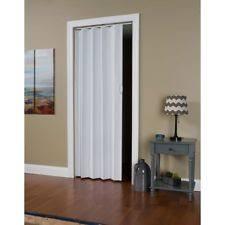 Vinyl Accordion Closet Doors Folding Home Doors Ebay