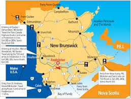 Map Of Quebec Province Travel Information Unb