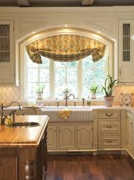 Kitchen Window Design Awesome Window Treatment Ideas For Kitchen Sink Window