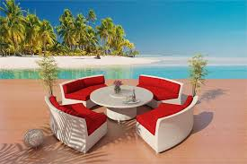 cassandra white wicker patio furniture 1