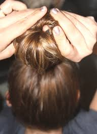 sock hair bun how to use a sock to get beautiful curly hair without heat a