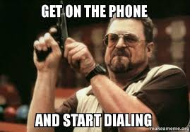 On The Phone Meme - get on the phone and start dialing am i the only one make a meme